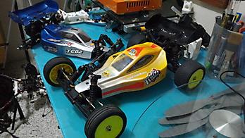 1/10 Team-C TC02 buggy